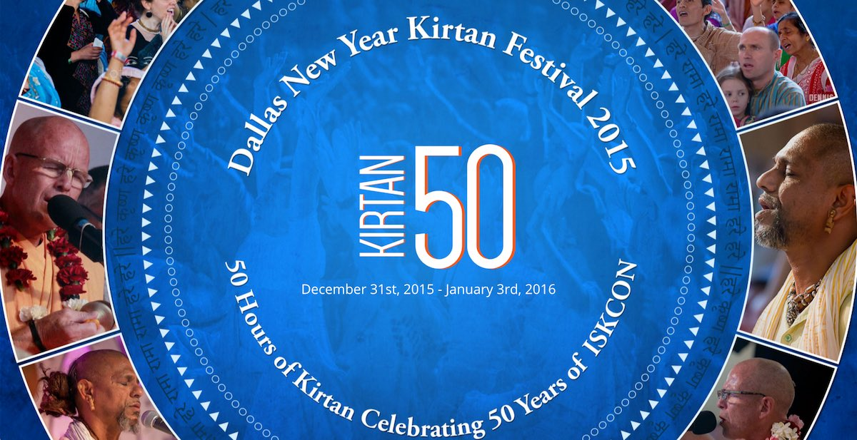 Dallas New Year Kirtan Festival 2015/2016