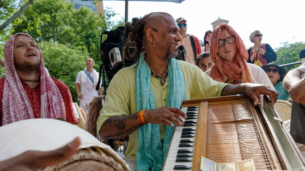 Madhava at Union Square Park