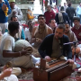 Govinda Prabhu at Krishna Balaram Mandir in Vrindavan