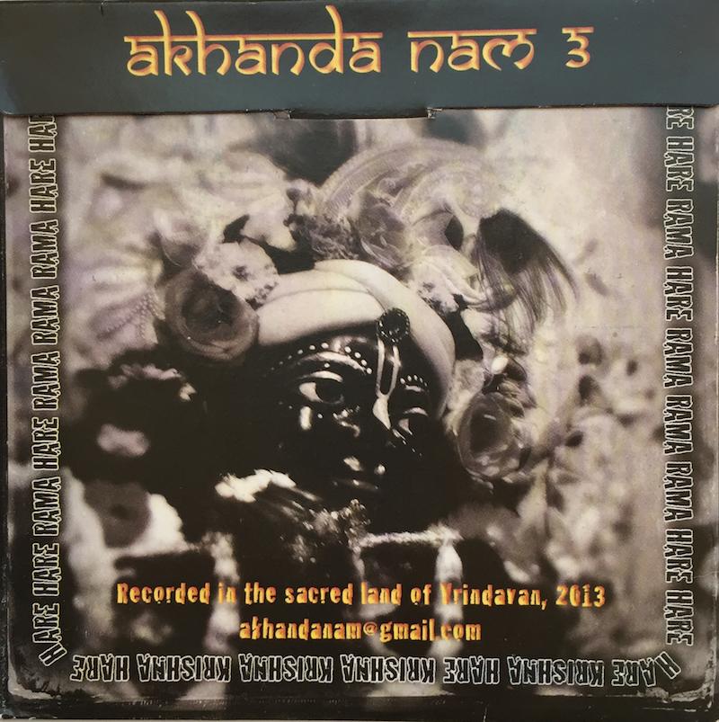 Govinda Prabhu - Akhanda Nam 3 - Back