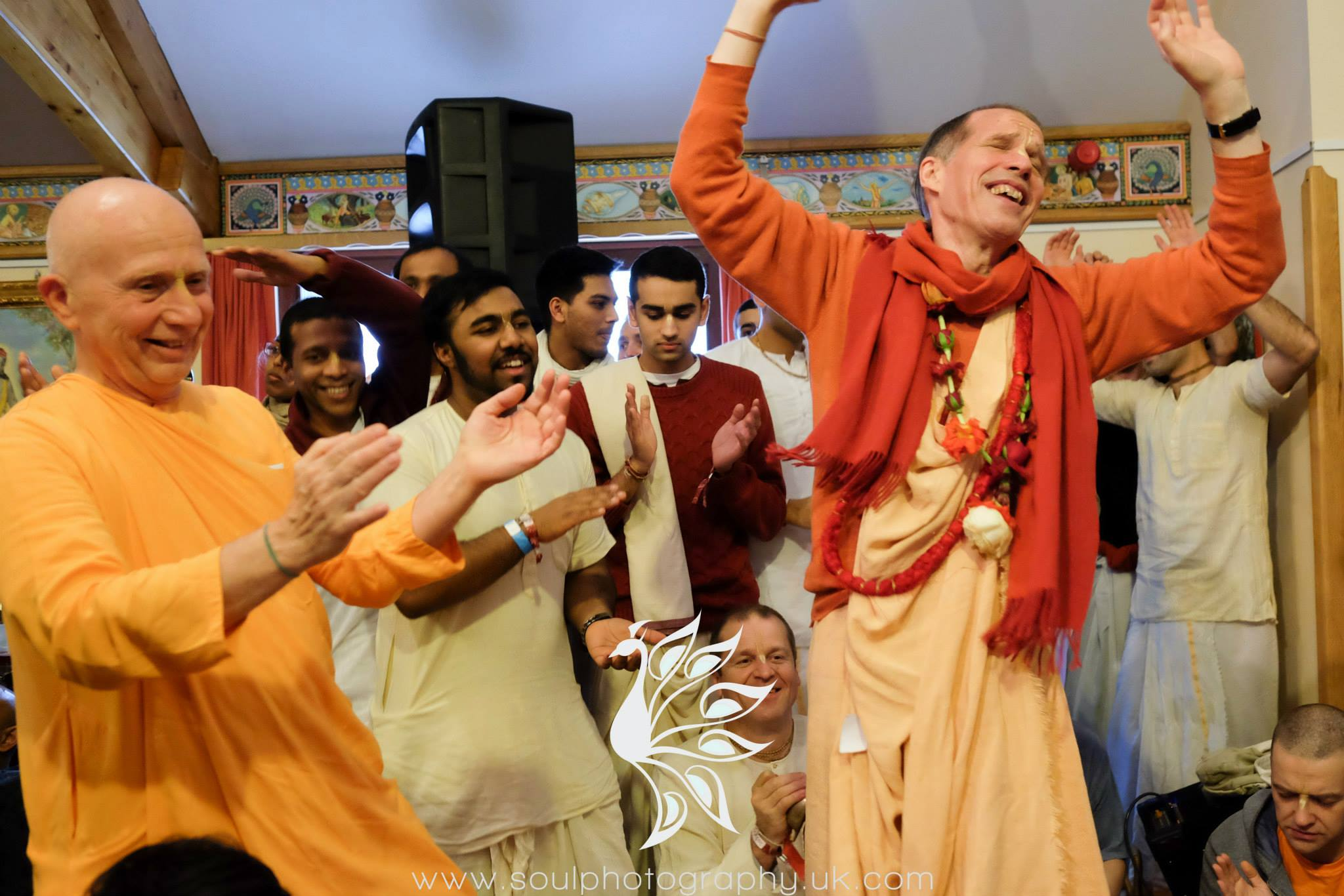 Sacinanandana and Chandramauli Swami Radhadesh Mellows 2015