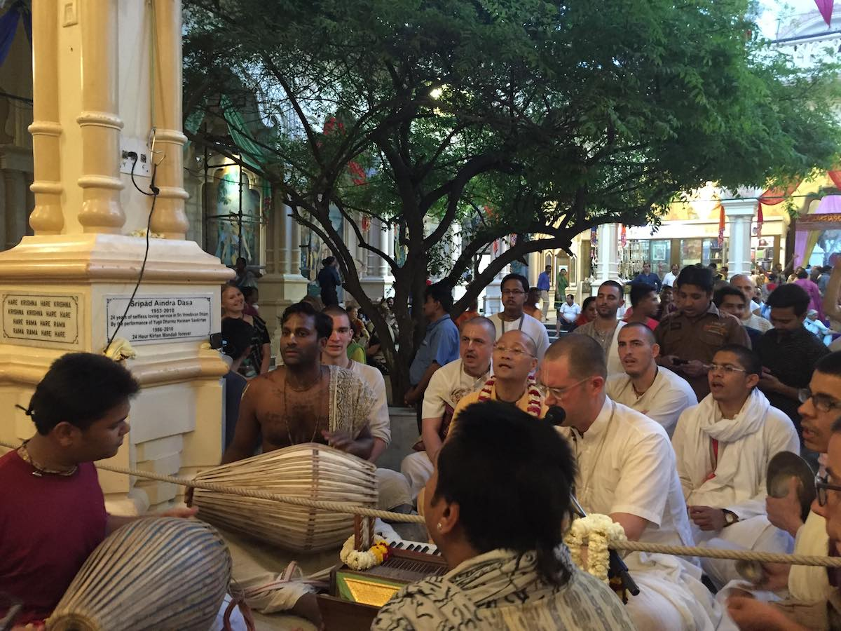 Krishna Balaram Mandir Kirtan March 2016